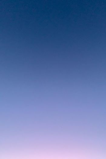 Low angle view of clear sky at dusk