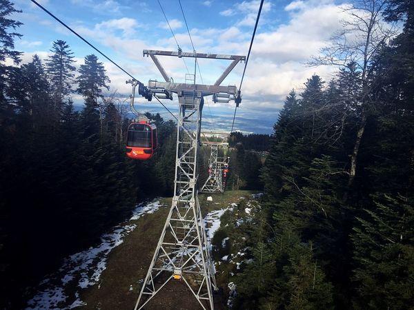 Siwss Switzerland Pilatus Sky Overhead Cable Car Nature Outdoors Day VSCO Cam Enjoying Life Random Relaxing Nature Photography Winter Blue Sky Tumblr Blue Spam Follow Likeforlike Hi!