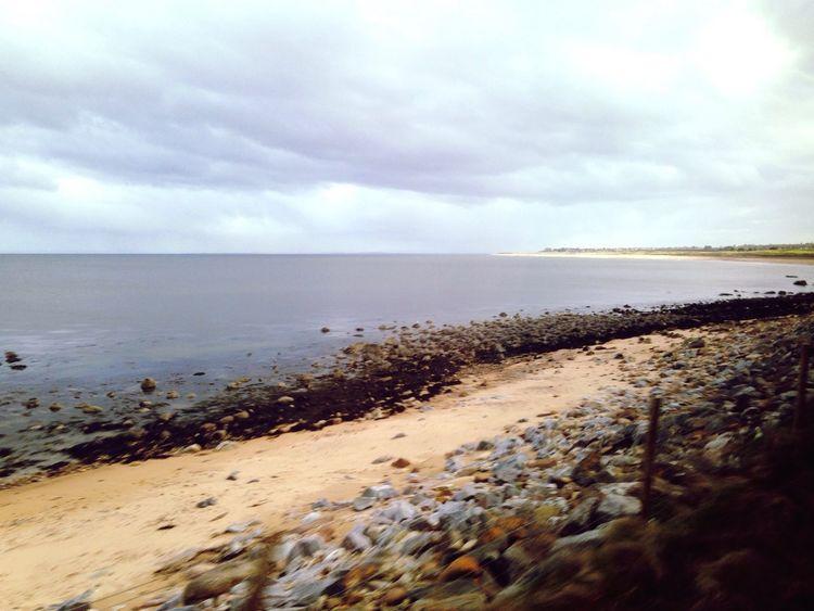 NW coastal sands near Brora Caithness Sea Sand Horizon Over Water