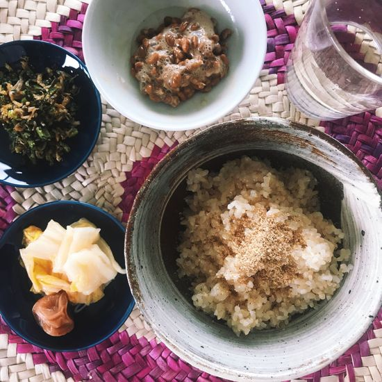 Japanese healthy food. Food And Drink Food Plate Freshness High Angle View Bowl Ready-to-eat Serving Size Table Indoors  No People Healthy Eating Close-up Day Food And Drink Enjoy Eating Enjoying A Meal My World Of Food Eye4photography  Taking Photos Japanese Food Healthy Food