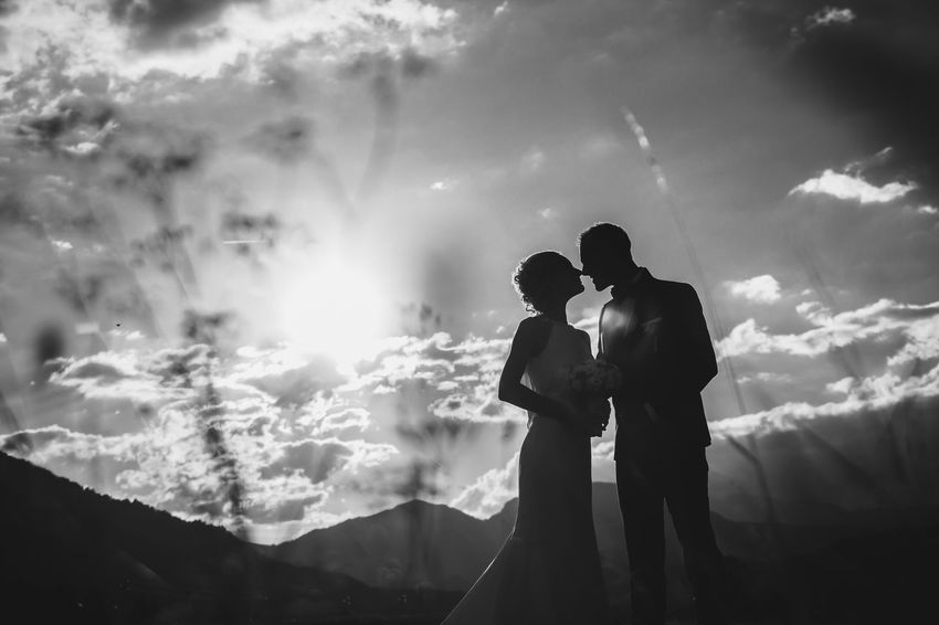 Black And White Photography Blackandwhite Bride And Groom Bridegroom Clouds Couple Dramatic Sky EyeEmNewHere Kiss Kissing Kissing Couple Lifestyle Photograpg Love Love Is In The Air Love Story Nature And Lanscapes People And Nature Silhouette Sunlight Togetherness Two People View We Wedding Couple Wedding Photography
