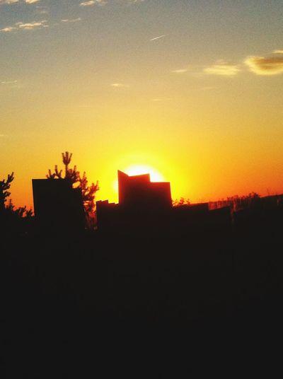 Sunset Sun Abstract Nature