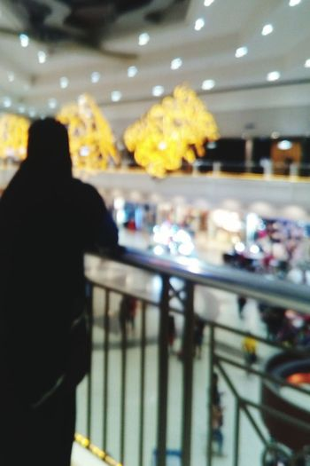 Waiting, Boring.. Instamoment Popular Photos Mall Rear View Real People Illuminated Lifestyles Railing One Person Standing Leisure Activity Indoors  Airport Men Night People Adult