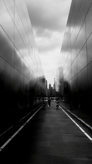 Business Finance And Industry Architecture Modern Steel Aluminum Indoors  Day No People Sky Emptysky Newyorkcity New York Be. Ready. EyeEmNewHere