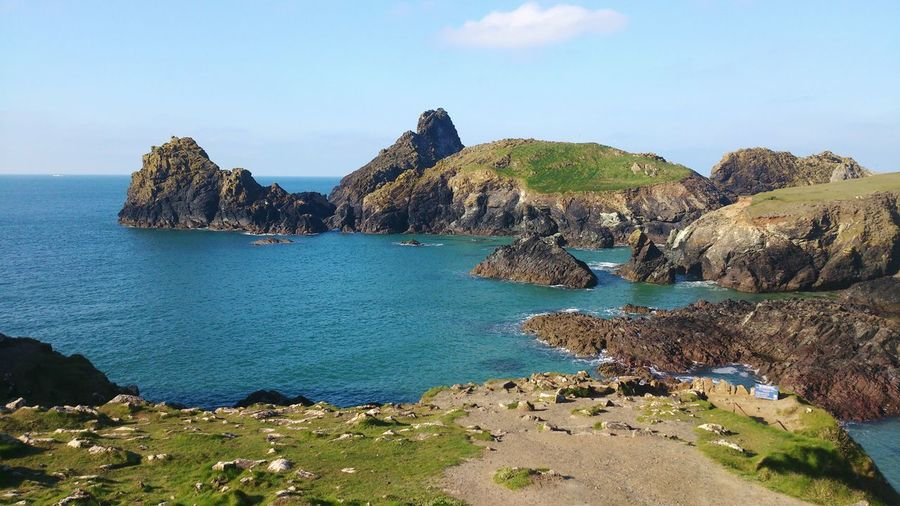 Landscape Landscape_photography Cliffs Seaside Ocean View Bkue Sky Epic View Cornwall Uk Smartphonephotography