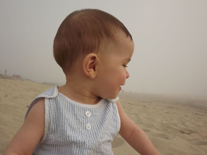 Baby Beach Beach Photography Beach Time Casual Clothing Childhood Cute Day Headshot Human Face Innocence Leisure Activity Outdoors Person Summer Tranquil Scene Tranquility No Filter, No Edit, Just Photography