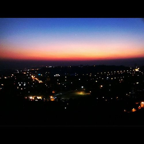 A Whole New Horizon!! 😊 Kharghar KhargharHill AwesomeLight Awesomenight Awesomeness VSCO Vscocam Vscomumbai 😃