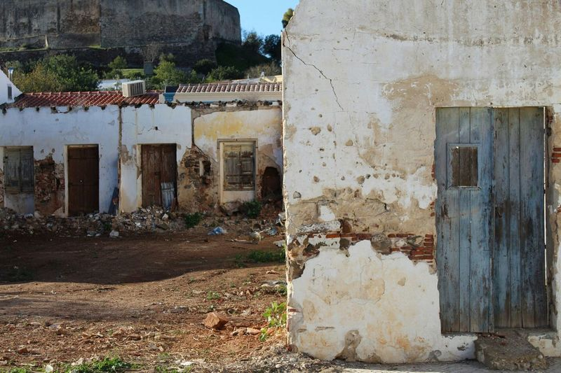 EyeEm Selects House Built Structure Building Exterior Door No People Day Architecture Outdoors Sky Portugal 2017 Canon EOS 1300D