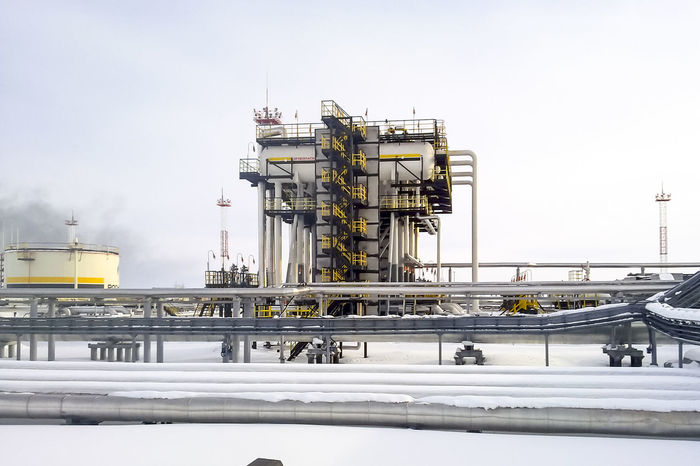 Oil Oil Pump Gas Gasprom Rosneft Refinery Industry Fuel And Power Generation Oil Industry Factory Nature Pipe - Tube Sky Environmental Issues Water Day Fossil Fuel Environment Transportation Technology Outdoors Pollution Natural Gas No People Chemical Plant Industrial Equipment