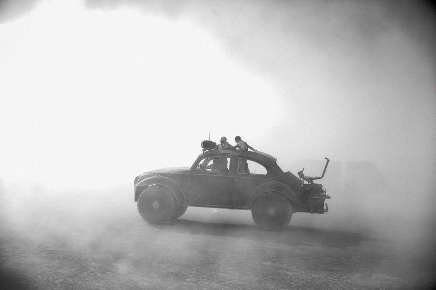 Apocalypse Apocalyptic Art Blackandwhite Burningman Car Cool Crazy Creative Curious Desert Drive Explore Going Away Madmax Memories Non-urban Scene Old Old-fashioned Selective Focus Silhouette Single Object Storm Transportation Unrecognizable People