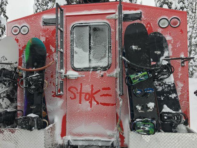 STOKE   Baldface Lodge Canada Winter Toofun Snowboarding