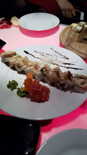 Суши Great Atmosphere Drinks Food Sushi