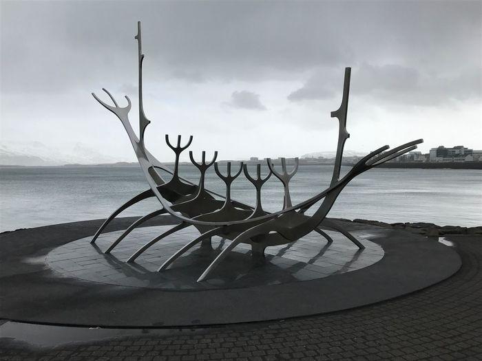 Sun sculpture