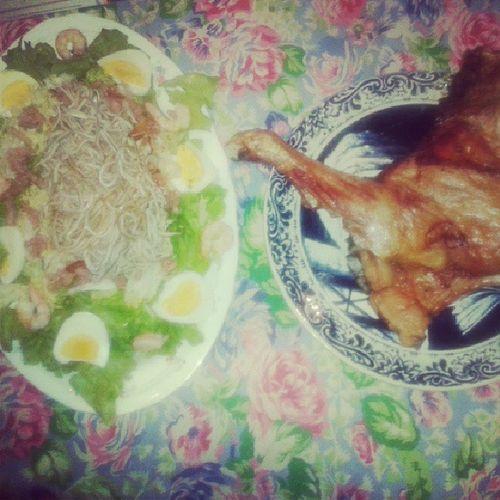 Hoy mi madre no se puede quejar de la comida que le he echo :) Felizdiaama