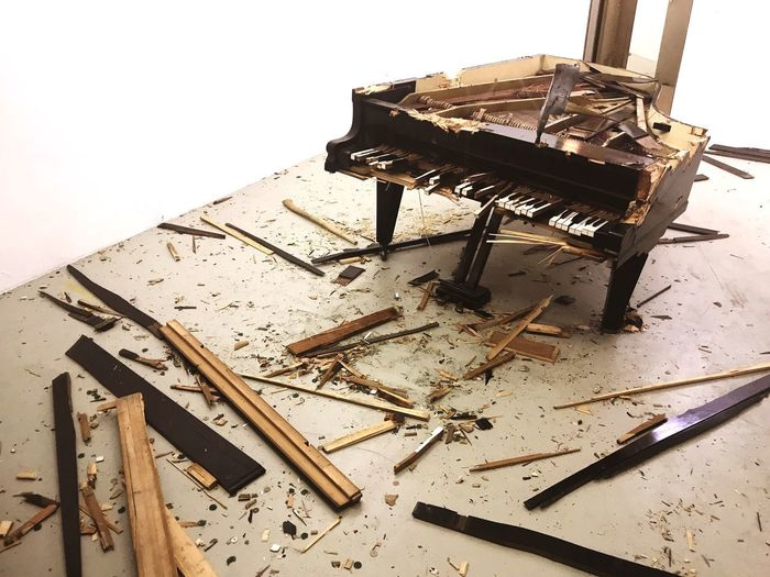 Destroy! Hanger Destroy Destroyed Let It Out Piano