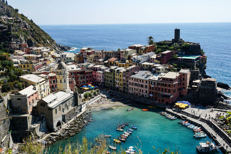 Cinque Terre Liguria, Italy Day Outdoors Summer
