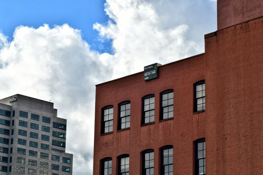 Buildings in downtown portland, i took the shot while my husband was driving lol Showcase: February Portland Oregon From My Point Of View Going The Distance EyeEm Gallery Nikond3300 Eye4photography  Cityscapes Taking Pictures Eyeem Photography EyeEm Best Shots Taking Photos Eyemphotography Cityscape Buildings Cloudporn The Architect - 2016 EyeEm Awards Colour Of Life