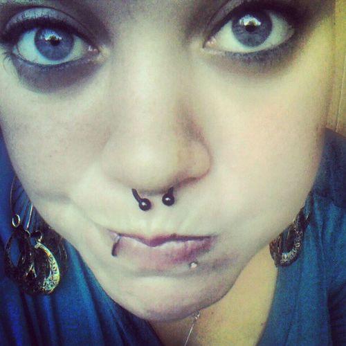 Biotene mouth wash:) Cleanteeth Cleanpiercings Mouthwash Newhole newpiercing lipstud