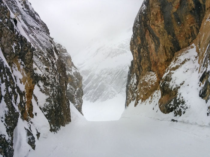 Cold Temperature Frozen Mountain Nature Outdoor Rock Snow Weather Winter Nature's Diversities