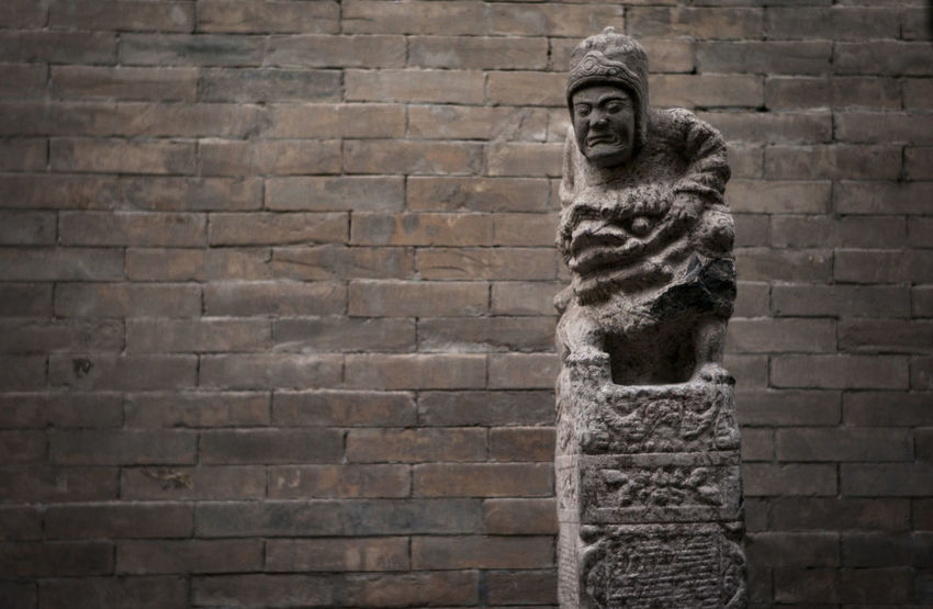 Art And Craft Outdoors Sculpture Statue Day Built Structure History No People Low Angle View Building Exterior Architecture SkyChuan Ma Zhuang🐴🇨🇳China