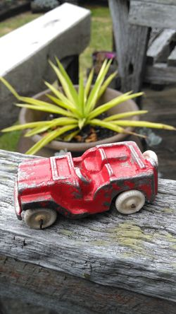 Old Toy Red Jeep Childs Toy Childs Play Samsungphotography Outdoors EyeEm Gallery EyeEm Best Shots Eye4photography  Welcomeweekly