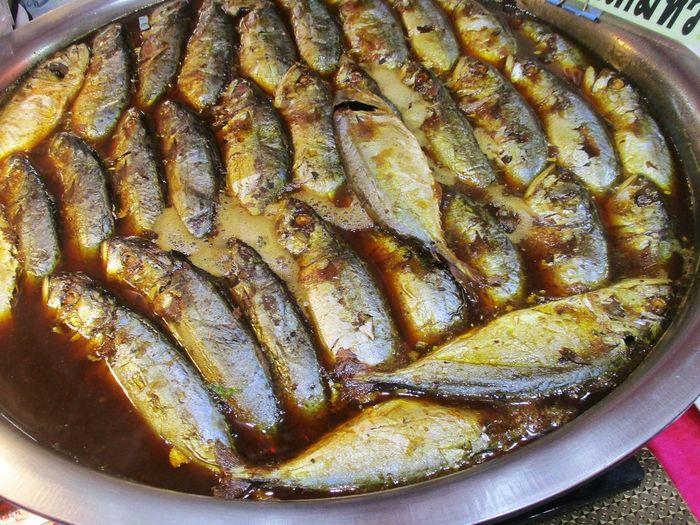 ปลาทูต้มเค็ม Food And Drink Food Freshness Seafood No People Fish Healthy Eating Close-up Indoors  Day Ready-to-eat
