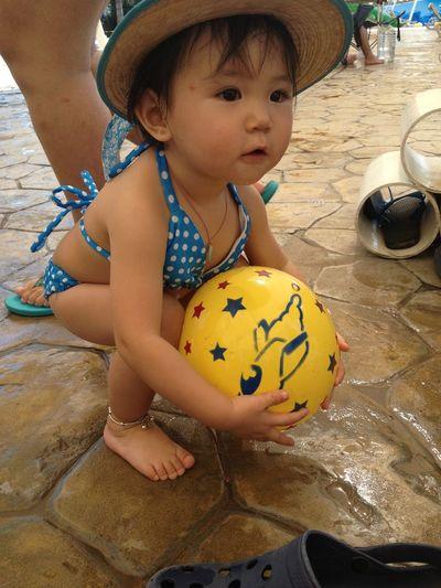来跟我玩球球吧? Hi!