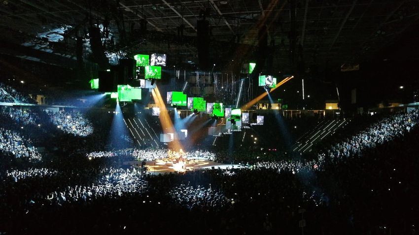 Metallica live Turin 2018 #metallica #heavymetal #music LiveConcert #Live #Concert Popular Music Concert Illuminated Music Arts Culture And Entertainment