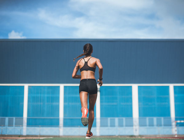 Lifestyle Marathon Running Sport Photographer Stadium Energy Fit Fitness Training Healthy Lifestyle Outdoor Activities Sport Sportswear Springtime Starting Line Woman Exercising
