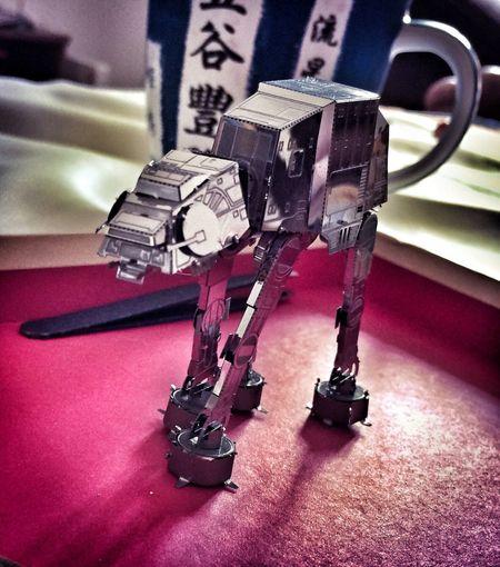 Star Wars Metal Metallic Sculpture