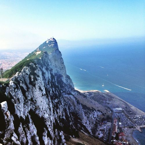 The top Landscape Mountains Mountain Seaview IPhoneography RockOfGibraltar