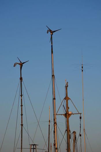 Blue Boats Clear Sky Day Saint Petersburg Spb Summer Sunset Tall - High