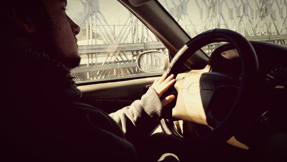 Boyfriend Bridge Car Driving Love