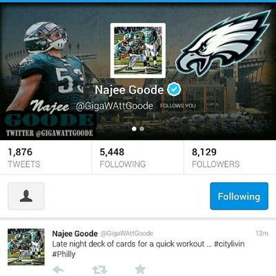 New banner I just made for the homie @GigawattGoode Eagles
