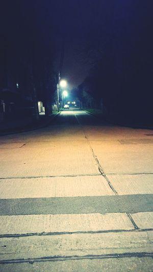 Night Fog Nightwalker  The City Light
