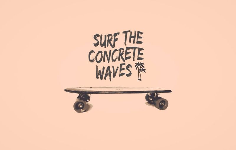 """""""Surf the concrete waves"""" DARK COCOA new collection SS14.. Coming soon. Darkcocoamx Cruiserboards  Skateboard Longboards"""