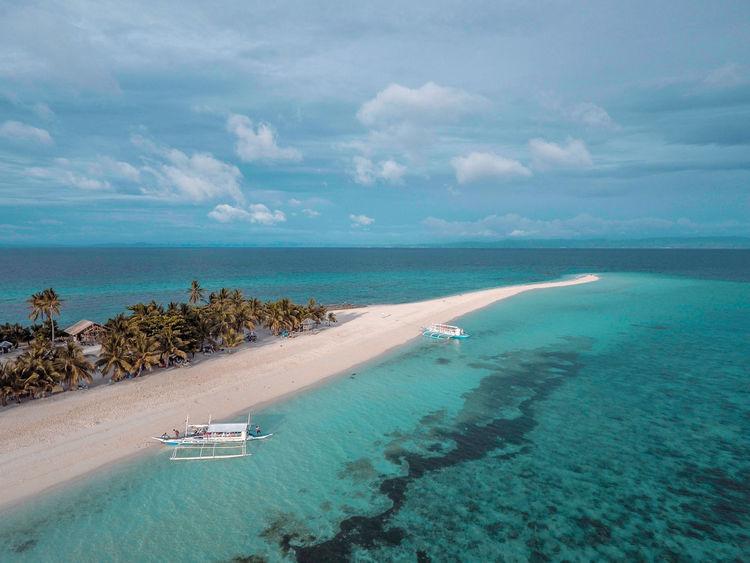 Eyeem Philippines Sea Island White Sand Sandbar Nature Beach Lost In The Landscape