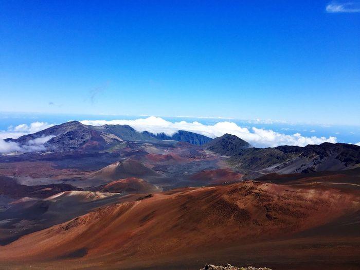 Haleakala Maui Hawaii Hawaii Maui Haleakala Nature Landscape Mountain Beauty In Nature Scenics Tranquil Scene Tranquility