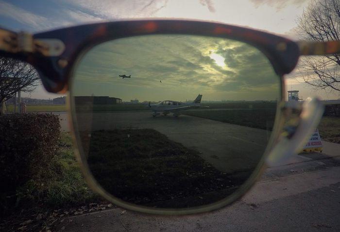 Flight ✈ Sky Tree Sunglasses :) RayBans® Clubmaster AirPlane ✈