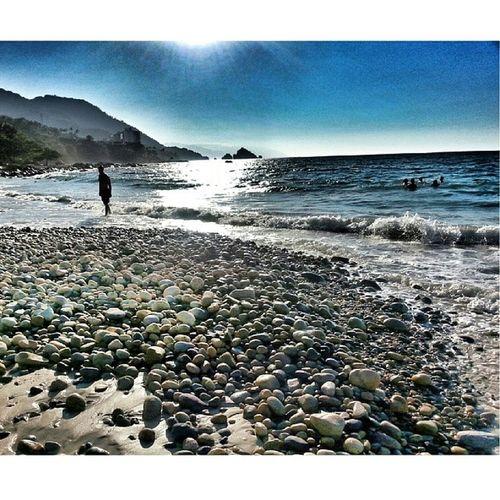 Puertovallarta Pv Vacation Vacationspots GarzaBlancaResort beach beautifulsky beautifulday beautiful treasures_and_nature theworld_thru_youreyes rocks cazzlphotos flippinchi letsgoforawalk ocean my_other_pictures_are_even_better mexico amazing