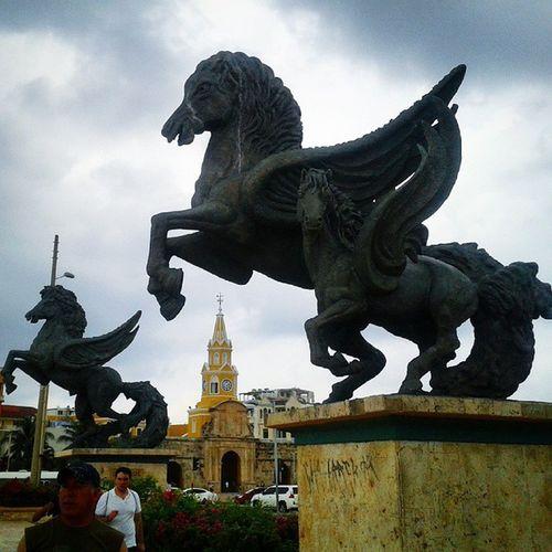Muelledelospegasos Centro Cartagena HectorLombana