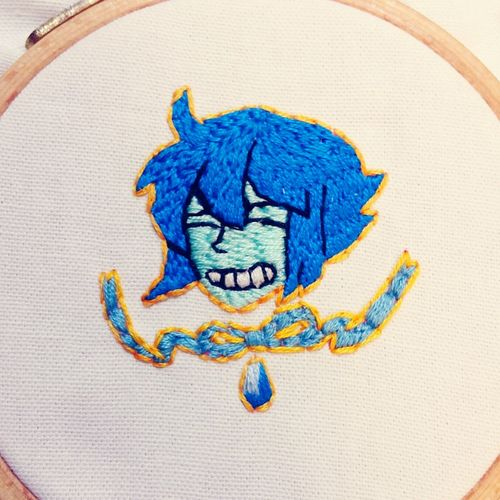 For me Steven Universe Lapis Lazuli Lapis Embroidery