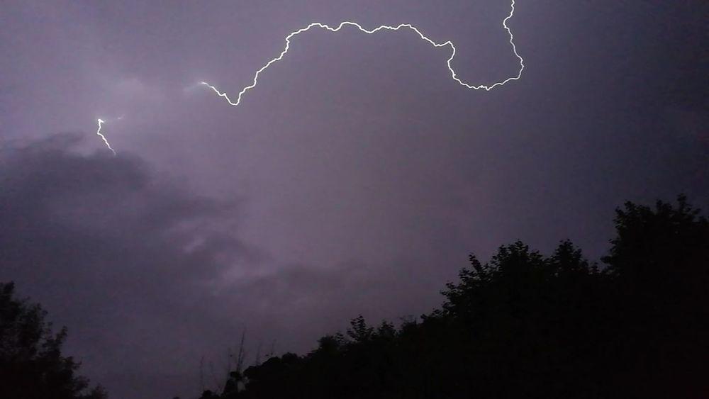Rayo Nature Light Sky Night