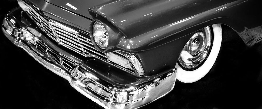 '57 Ford Land Vehicle No People Mode Of Transportation Close-up Motor Vehicle Transportation Car Indoors  High Angle View Day Headlight Metal Design Pattern Shiny Travel Reflection Vintage Car Shape Wheel