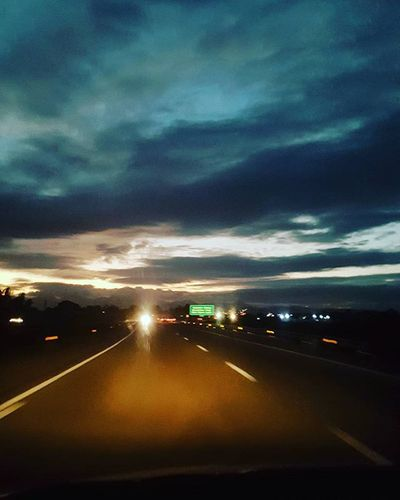 My last sunset for 2015, saw it on a road trip, so I guess my 2016 will be filled with picturesque road trips lol Sunset Happynewyear 2015yearender Ontheroad Longdrive Roadtrip Nightshot Momentofnote