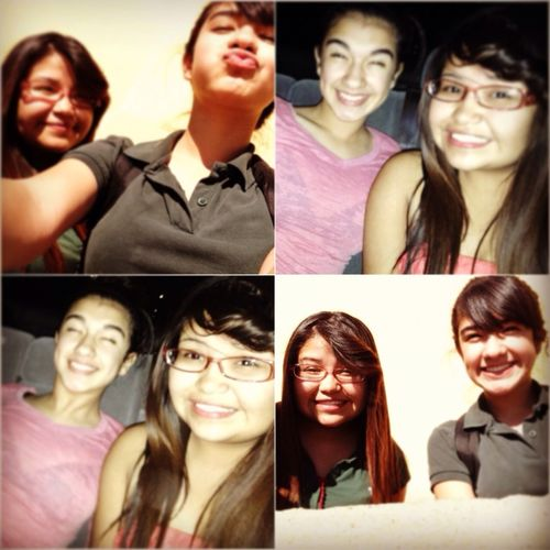Me and Nerii <3 I love this crazy bitch (: