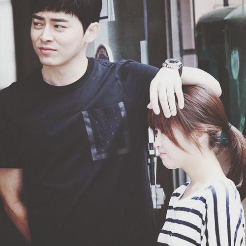 Korean Drama Ohmyghost Daebak Theend Handsome Boy Cutegirl Jojongsuk Parkboyoung Loveyou♥