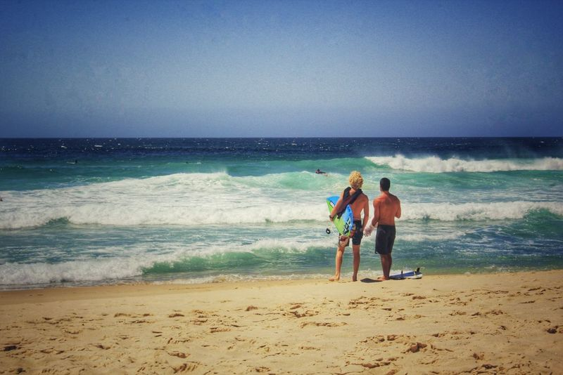 Surf's Up Beach Cannon Blue Wave Surfing Canon60d Beachphotography Sydney, Australia