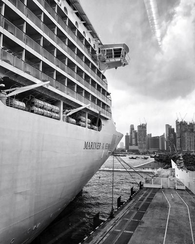 Ahoy. Sky City Cruise Cruise Ship Vacations Vacation Blackandwhite Photography Black And White Photography Blackandwhite Black And White Black & White Black&white EyeEm Gallery OpenEdit EyeEm Best Shots Check This Out Taking Photos First Eyeem Photo