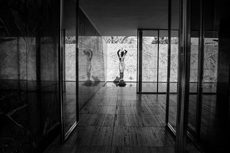 Barcelona Mies Van Der Rohe Noir